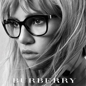 Burberry Glasses campaign
