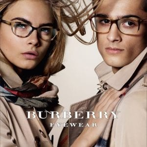 Cheetah print Burberry Glasses