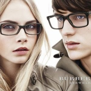 Black frame Burberry Glasses