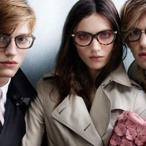 Latest Burberry Glasses campaign