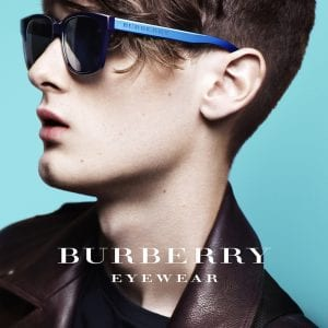 Mens Burberry Glasses campaign