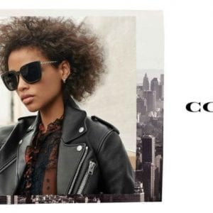 Coach Glasses campaign
