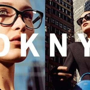 New DKNY Glasses campaign