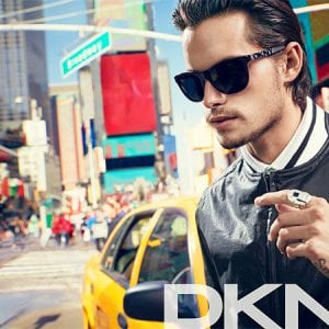 DKNY Glasses mens campaign