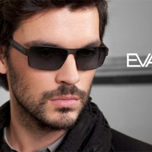 Black Evatik Glasses