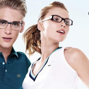 Sporty Lacoste Glasses couple