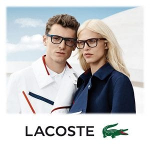Lacoste Glasses campaign with couple