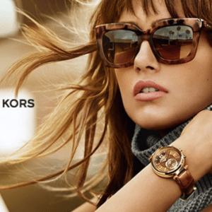 The latest Michael Kors Glasses campaign