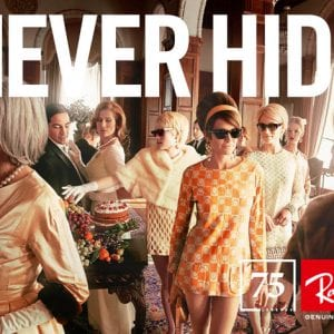 Ray ban glasses women's campaign