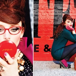 Kate Spade Glasses howard campaign