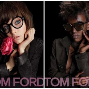 Women's tom ford glasses campaign