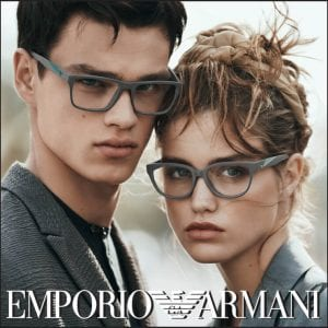 Grey Emporio Armani Glasses