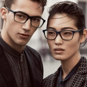 Couple campaign for Emporio Armani Glasses