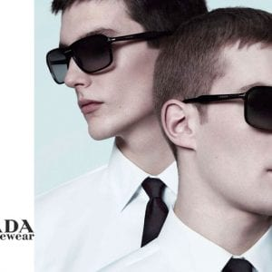 Mens Prada Glasses campaign