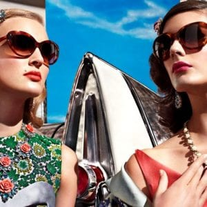 Womens Prada Glasses campaign