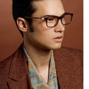 Campaign for salvatore ferragamo glasses