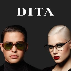 Couple campaign for Dita Glasses