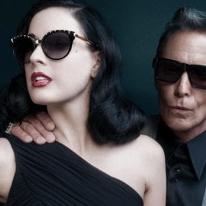Couple wearing Dita Glasses