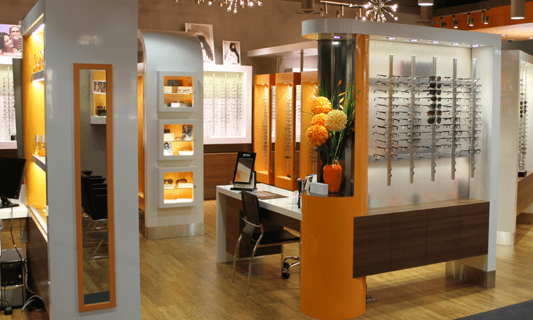 Vision Gallery Clinic shot for Glasses and Optometrists Edmonton