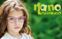 Girl wearing Nano Vista Glasses
