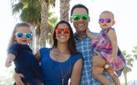 Family wearing Roshambo Glasses